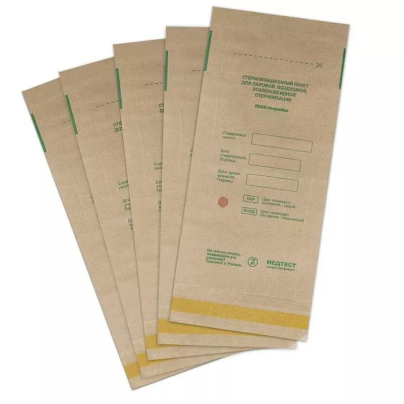 Крафт-пакеты 75*150